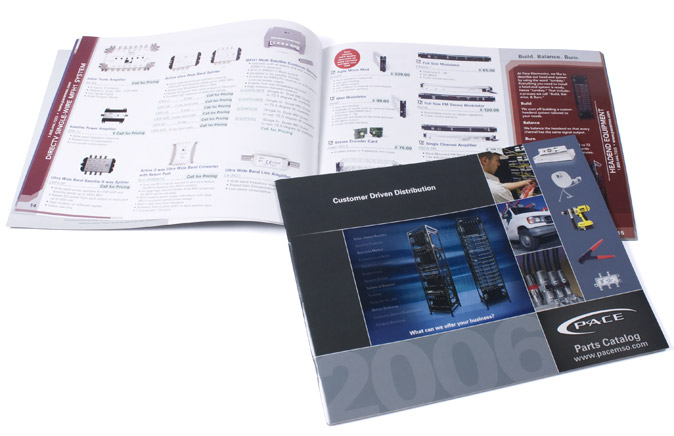 Picture of the 2006 Parts Catalog cover with open spread behind